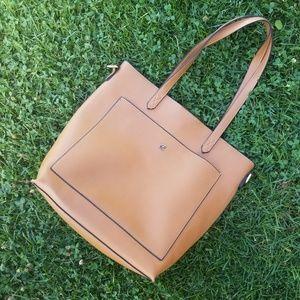 Kat & Alex EUC leather handbag minimal simple
